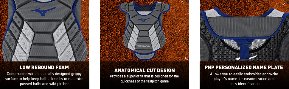 fastpitch chest protector