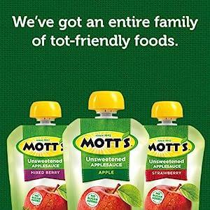 Mott's - We've got an entire family of tot-friendly foods