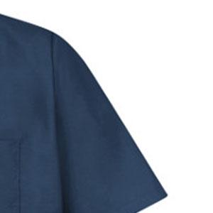 buttoned work shirt, work shirt with buttons, red kap button shirt