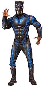 black panther battle costume