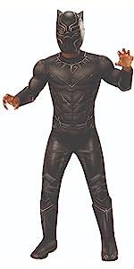 child's black panther costume