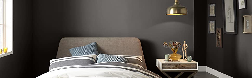 interior paint, wall paint, bedroom paint, sherwin williams, clare paint, backdrop paint