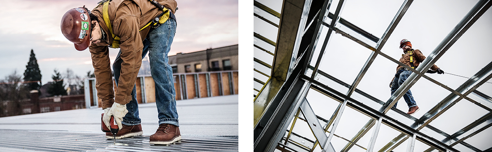 KEEN Utility work boot construction maintenance slip resistant medium duty waterproof