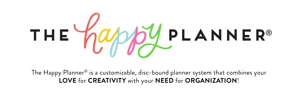 The Happy Planner Logo + Copy
