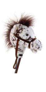 appalooosa stick horse