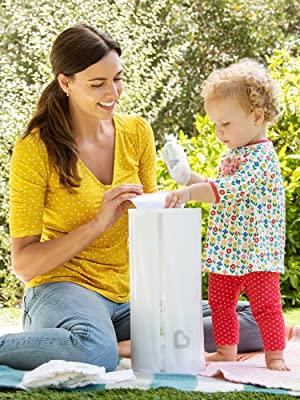 toss diaper pail munchkin disposable