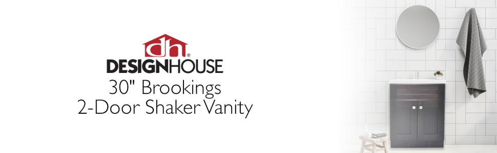 brookings 2 door shaker vanity