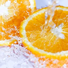 THE ESSENCE of tangy orange and sparkling citrus fruits spritz with freshness.