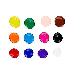 crayola kids paint, paint colors, crayola paint colors, school supplies, tempera paint, acrylics