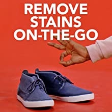 Wipes quickly clean and remove dirt and stains on-the-go.