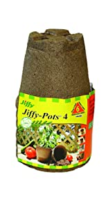 Jiffy Pot 4 Pack