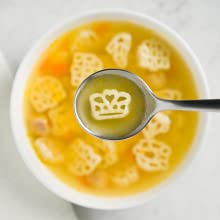 Campbell's soup with shapes