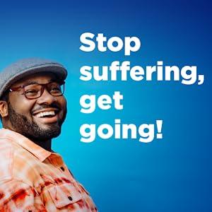 Stop suffering, get going!