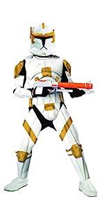 Deluxe Adilt Commander Cody Costume