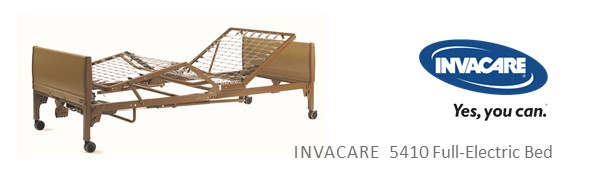 5410 hospital bed invacare full electric 6 function