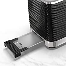 Toster, 2 slice toaster, 2-slice toaster, small toaster, compact toaster, warmer, bagel toaster