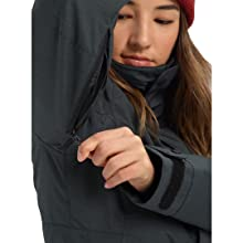 burton womens outerwear jackets coat winter outdoors ski snow protection wind waterproof baggy fit