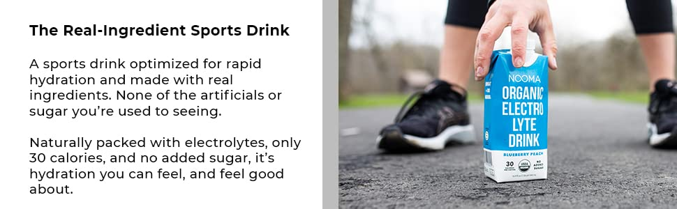 The real-ingredient sports drink.