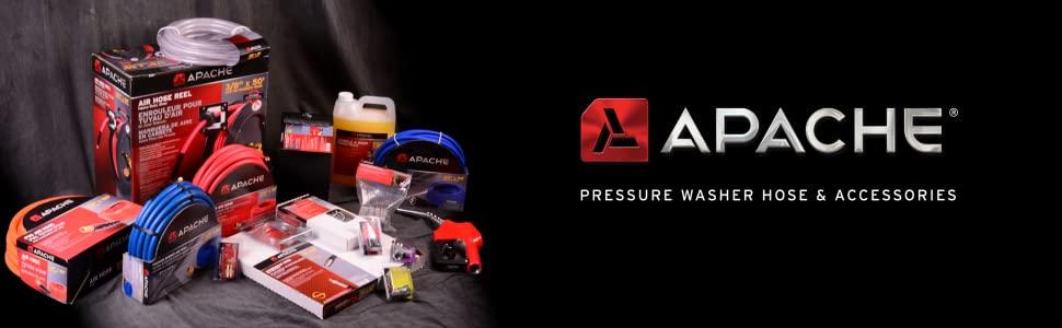 Apache Pressure Washer Hose & Accessories
