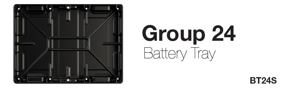 Battery tray, NOCO battery tray, NOCO, Group 24, battery tray group 24, group 24 battery tray