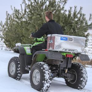 UWS ATV Tool Box Arctic Cat 4 Wheeler
