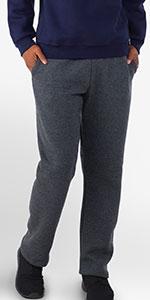 Russell Athletic Dri-Power Open-Bottom Pocket Sweatpants