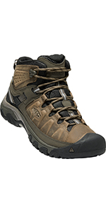 men's waterproof hiking boots comfortable leather synthetic durable stable breathable outdoor