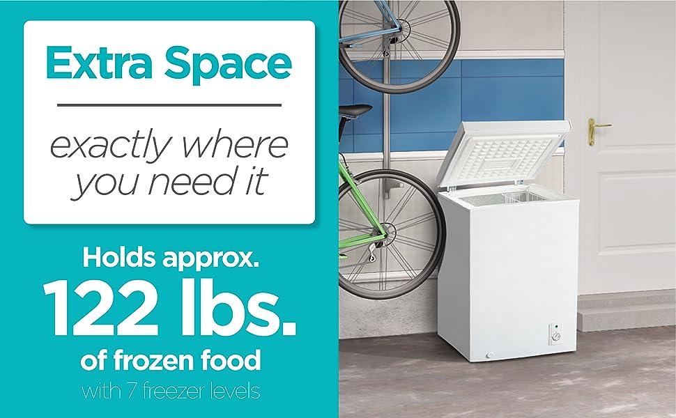 Chest Freezer, Garage, House, Frozen food
