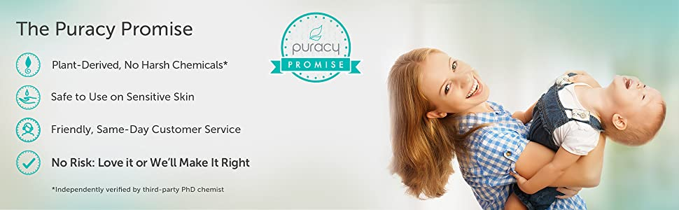 Puracy Body Wash Promise