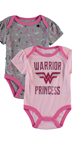 dc comics baby onesie clothing boy bodysuit  wonder woman