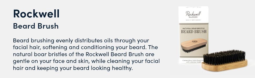 rockwell razors beard brush