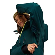 winter snowboard insultaed jacket warm comfort water repellent jacket to pant interface
