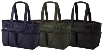 lihit lab blue tool bag, green tool bag and black tool bag