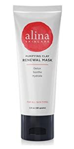 Mask, clay mask, exfoliation, moisturizing, purifying, detox