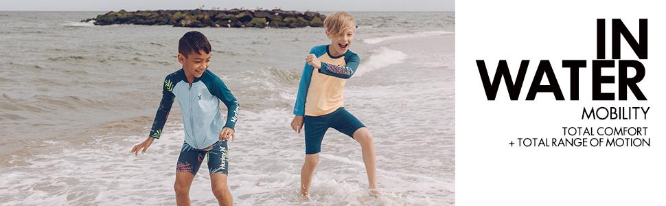 hurley kid kids boy boys graphic tshirt tee shirt top short sleeved sleeve shirt for boys kids