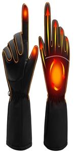 Heated Gloves Unisex Men Women Heat Glvoes Kit Motorcycling Hnad Warmer