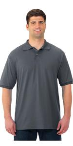 Polo, golf shirt, men's, tagless, stain resistant