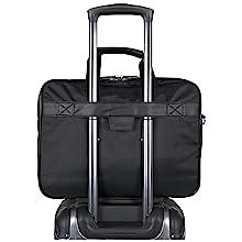 "Designer, Business, Laptop Case, Faux Leather, Bag, Tablet Bag, Laptop Bag, RFID, 16"" Laptop, Tablet"