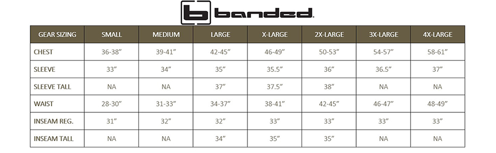 banded hunting gear
