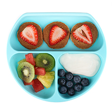 bumkins kids suction dish plate