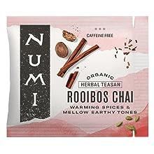 numi organic tea bag rooibos chai herbal tea gift box sampler variety pack