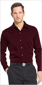 van heusen big tall sateen shirt, mens shirts, mens big tall shirts