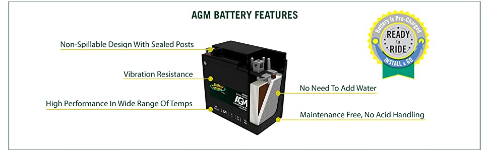agm battery features