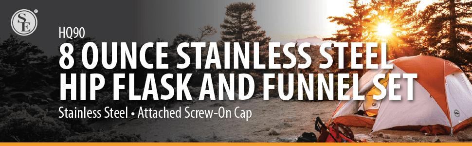 Bar tools and drinkware flasks