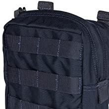 Integrates with 5.11 Bags, packs, and duffels