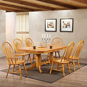 large dining room table,doulbe butterfly leaf table,self-storing,tables for large family,seating for