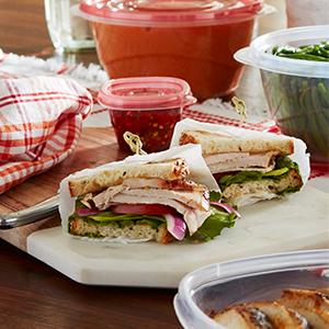 Turkey, stuffing, and cranberry sandwiches, anyone?