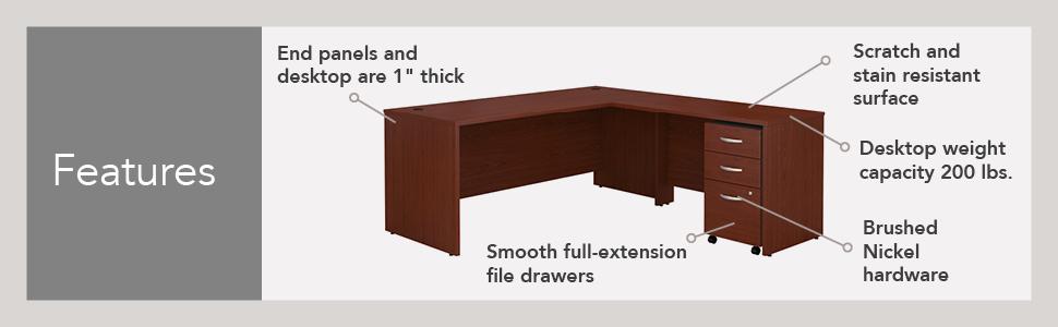 Bush Business Furniture,Series C,furniture,modular furniture,American furniture,made in USA