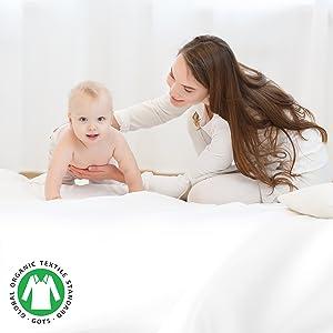organic cotton sheets; organic cotton bedding