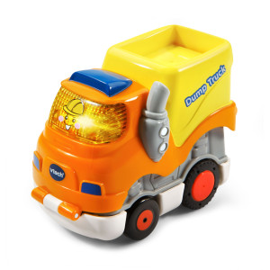 Go! Go! Smart Wheels Press and Race Dump Truck